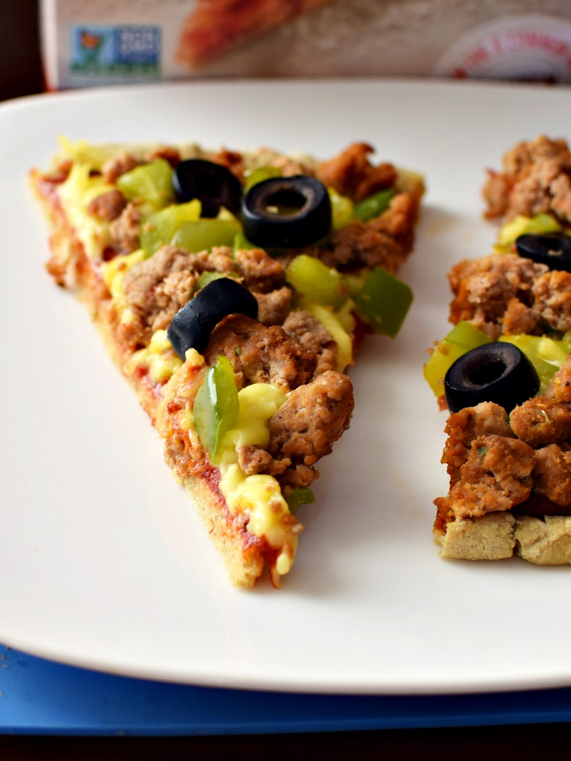 Dairy-Free Pizza with Follow Your Heart Cheese Alternative (a full review of this ALL NEW vegan, dairy-free, gluten-free, soy-free & nut-free cheese (no, it's not Vegan Gourmet!)