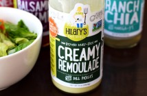 Hilary's Eat Well Salad Dressings - Healthy, dairy-free options including Ranch Chia, Creamy Remoulade, Apple Fennel & Balsamic Thyme