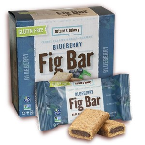 Nature's Bakery Gluten-Free Fig Bars - Vegan, Dairy-Free and in Four Flavors (Fig, Blueberry, Pomegranate, Raspberry)