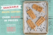 The Snackable Recipe Contest with Over $3500 in Cash Prizes! Show us your Sweet, Savory & Sippable Dairy-Free Recipes!