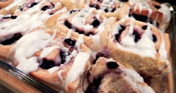 Blueberry Lemon Breakfast Buns