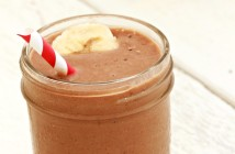 Tropical Chocolate Coconut Smoothie