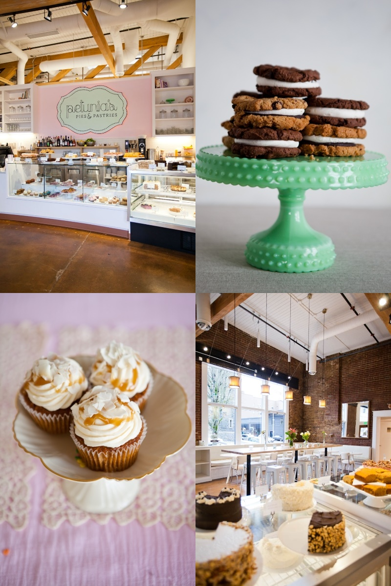 Petunia's Pies & Pastries is a Portland, OR bake shop brimming with 100% vegan and gluten-free sweets and savories.