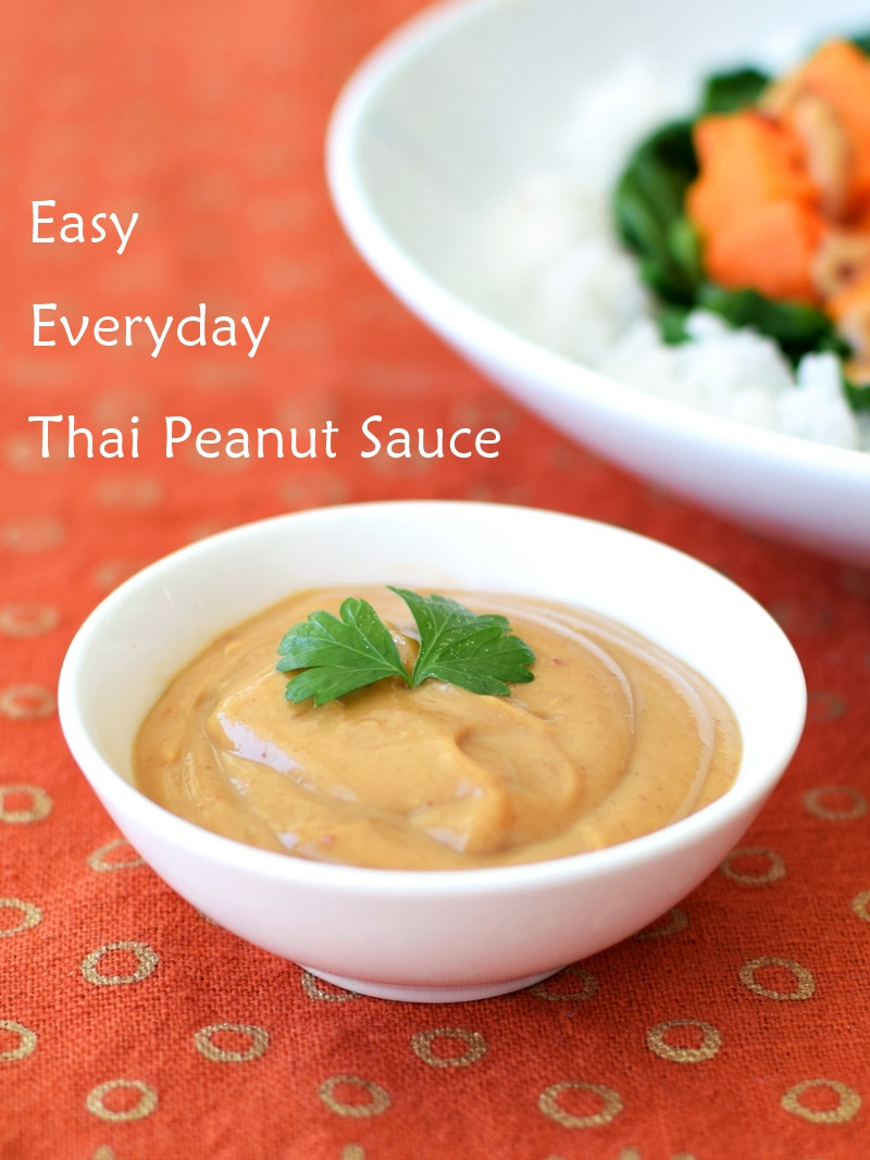 Asian peanut sauce recipe