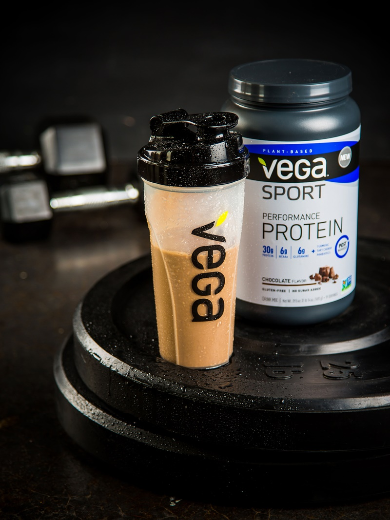 Vega Sport Performance Protein (new formula!): dairy-free, gluten-free, soy-free, vegan & no sugar added! 30 grams of plant protein per scoop.