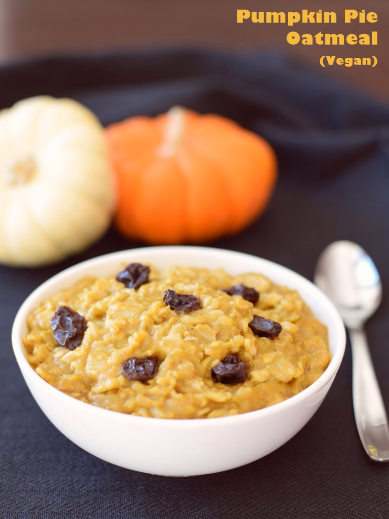 Each lean bowl of this pumpkin pie oatmeal packs a healthy dose of ...