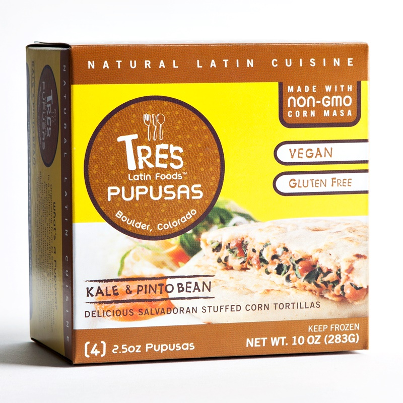 Vegan Pupusas (two varieties) Stuffed Corn Tortillas by Tres Pupusas (naturally gluten-free & made with organic, non-GMO corn)