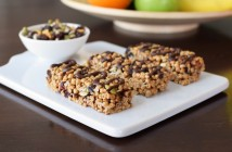 Super-Friendly Trail Mix Cereal Bars