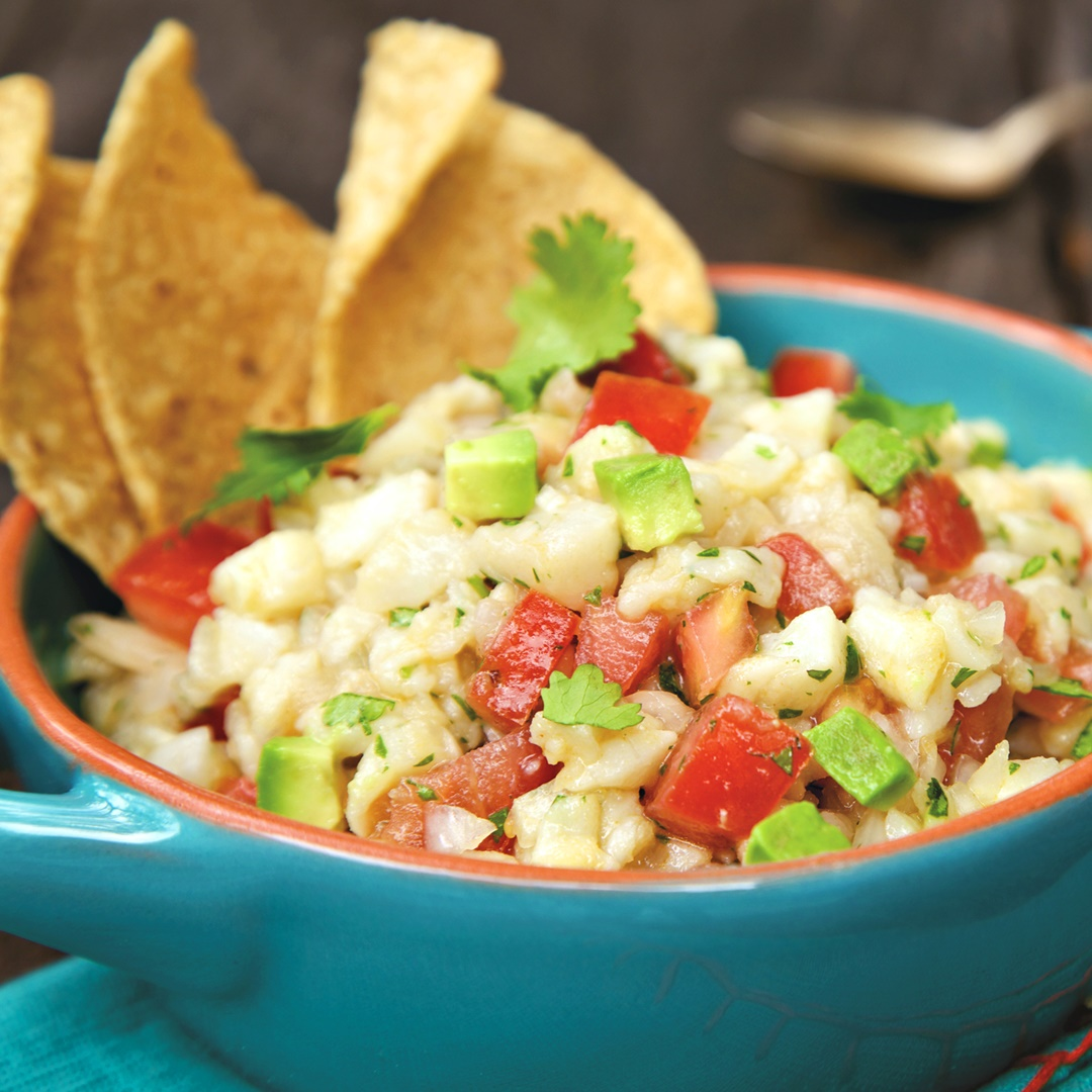 Spicy Mexican Ceviche Recipe With A Twist (Dairy Free) - 1080x1080 ...
