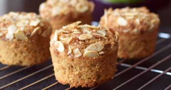 Apple Almond Crunch Muffins Recipe (includes vegan, gluten-free & wheat-based options!)