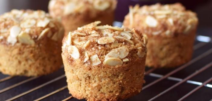 Apple Almond Crunch Muffins