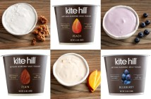 Kite Hill Yogurt - Dairy-Free Artisan Almond Milk Yogurt that is rich and creamy like a true European-style yogurt. Vegan, gluten-fee, soy-free.