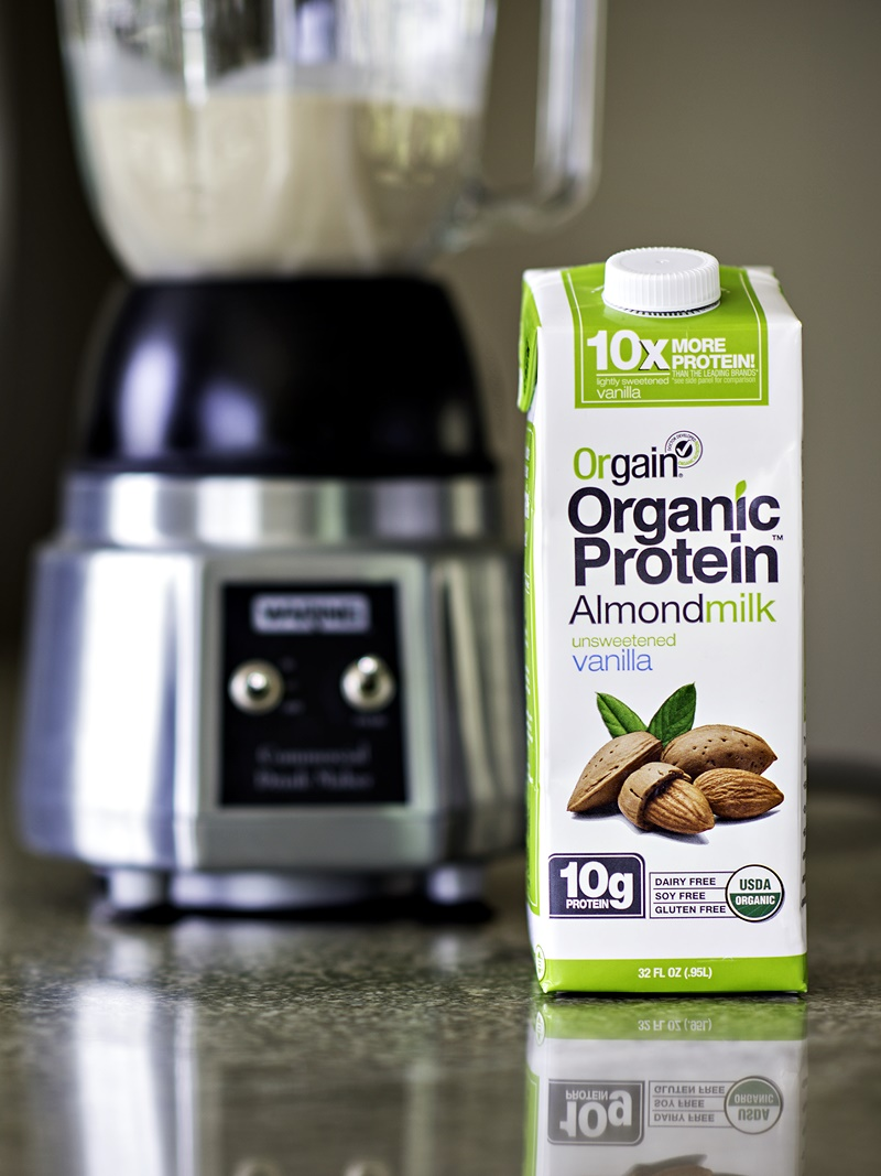 Orgain Organic Protein Almondmilk - This dairy-free, vegan milk alternative has 10 grams of protein per serving, is gluten-free and soy-free, and is Certified Organic and Kosher Parve.