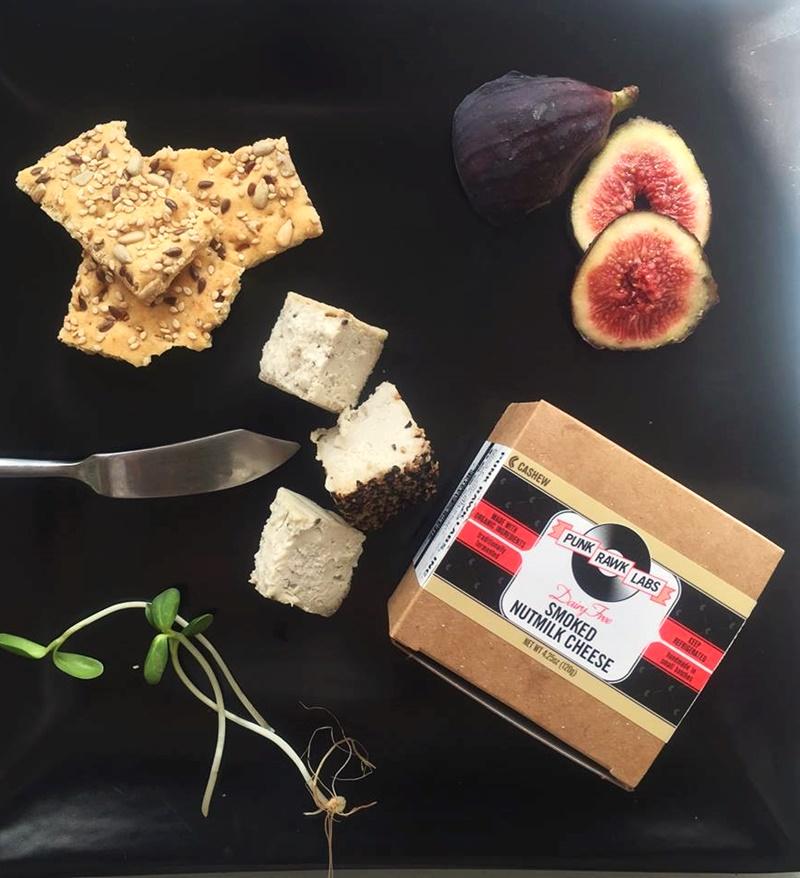 Punk Rawk Labs Dairy Free Nutmilk Cheeses - Amazing vegan cashew and macadamia cheeses in Original, Herb, Smoked and Nacho