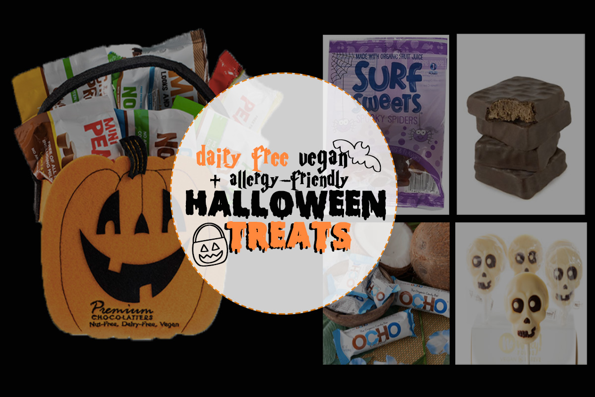 The Cutest + Tastiest Dairy-Free and Vegan Halloween Treats