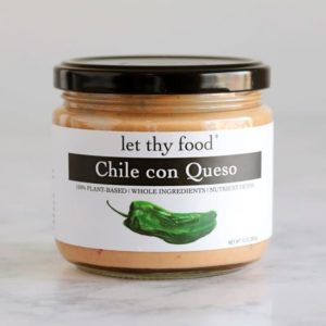 Let Thy Food Vegan Dips Reviews and Info - Five Dairy-Free Varieties. Pictured: Chile Con Queso