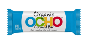 Ocho Organic Candy Bars Reviews and Info - Vegan, Gluten-Free Varieties.