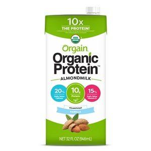Orgain Organic Protein Almond Milk reviews and info - dairy-free, gluten-free, soy-free, vegan