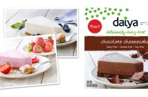 Daiya Cheezecakes - You won't believe these rich, decadent dessert are dairy-free! (vegan, gluten-free, nut-free & soy-free, too!). 4 Flavors: New York, Strawberry, Chocolate & Key Lime