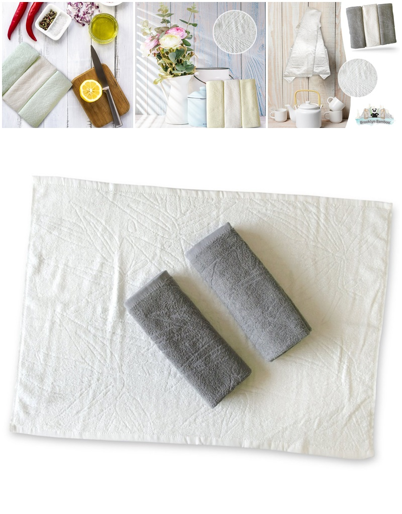 Twelve Awesome Kitchen Gifts that will actually get used! Perfect for any foodie on your list. Pictured: Luxurious Bamboo Kitchen Towels