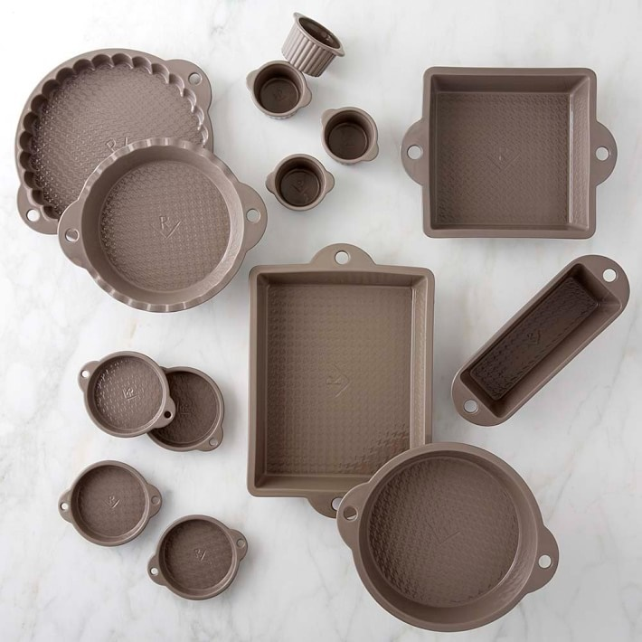 Twelve Awesome Kitchen Gifts that will actually get used! Perfect for any foodie on your list. Pictured: Revol Les Naturales Bakeware (pieces sold individually, or as a set; also available in Cream)