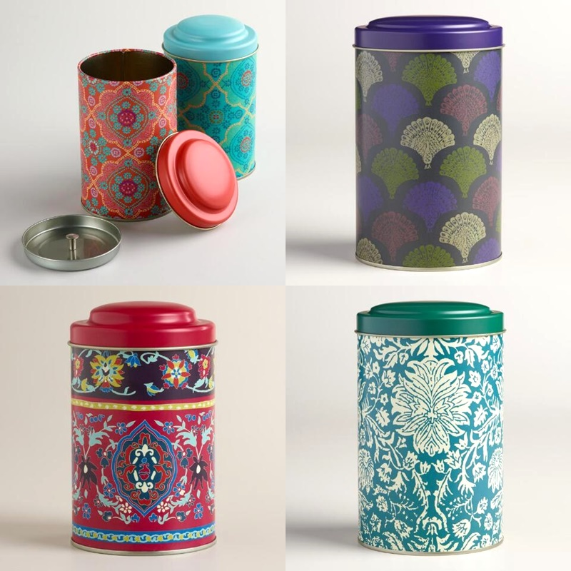Twelve Awesome Kitchen Gifts that will actually get used! Perfect for any foodie on your list. Pictured: World Market Tea Tins (pretty and airtight!)