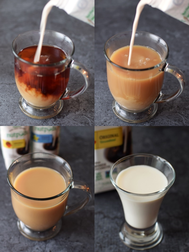 Nutpods Dairy-Free Creamer - surprisingly rich and full-bodied, in three unsweetened (0 grams of sugar) flavors! Vegan, gluten-free, soy-free, carrageenan-free.