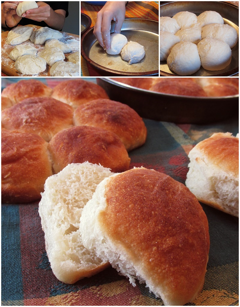 Rustic Homemade Rolls Recipe - From the holidays to everyday, these versatile baked buns are not only kid-friendly, but kid-made! (dairy-free, nut-free, soy-free, vegan recipe)