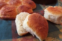 Rustic Homemade Rolls Recipe - From the holidays to everyday, these versatile baked buns are not only kid-friendly, but kid-made! (dairy-free recipe)