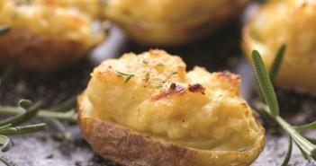 Twice Baked Potato Jackets with Rosemary