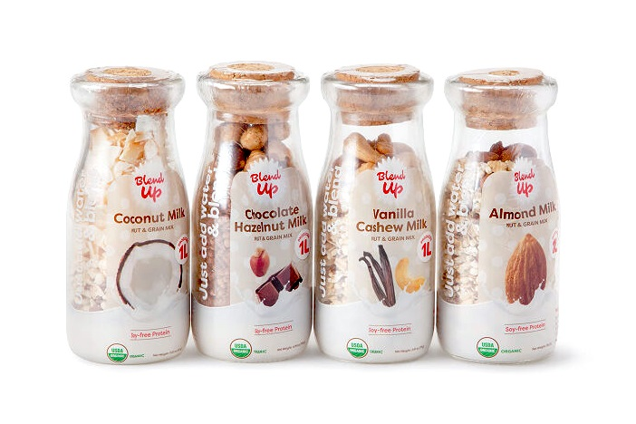 20 Delicious Dairy-Free Food Gifts for Everyone on Your List - unique presents with plant-based, vegan, gluten-free, paleo, and allergy-friendly options. Pictured: Nut Milk Blends Collection