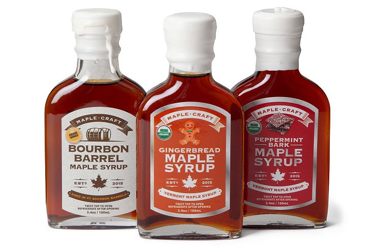 Maple Craft Maple Syrup Gift Sets - Winter Selection and other Dairy-Free Food Gifts