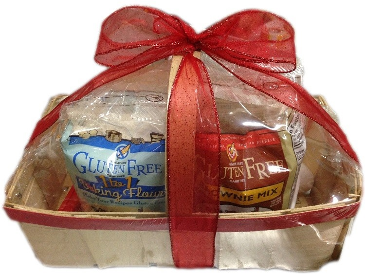 10 Delicious Dairy-Free Food Gifts with Something for Everyone On Your List (all packaged and ready for gifting!). Pictured: Bob's Red Mill Gluten-Free, Dairy-Free Gift Basket