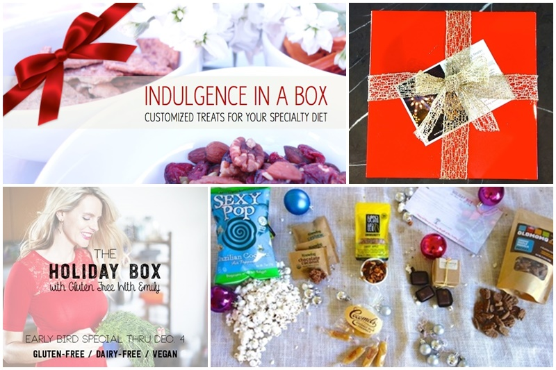 10 Delicious Dairy-Free Food Gifts with Something for Everyone On Your List (all packaged and ready for gifting!). Pictured: Tasteful Pantry Free-From Boxes (including the Holiday Vegan & Gluten-Free Box)