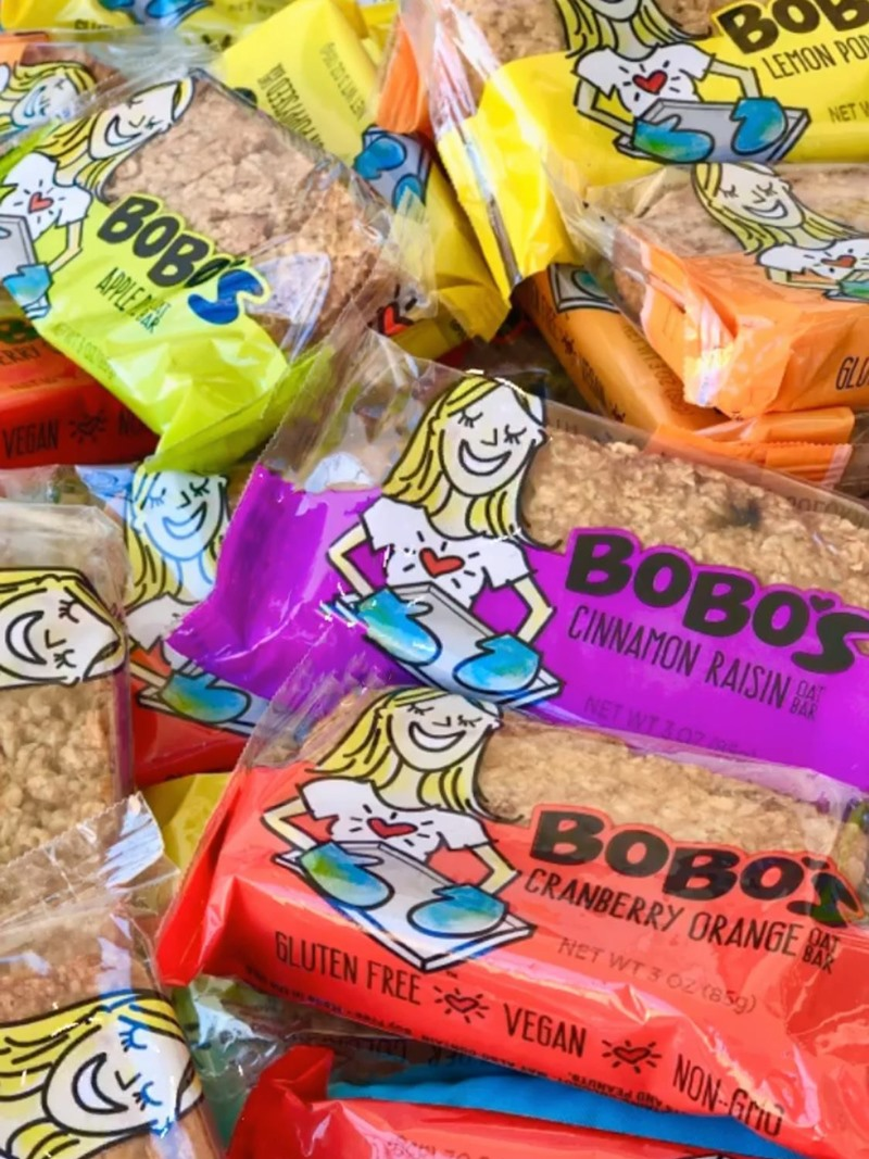 Bobo's Oat Bars Reviews and Info - Dairy-Free, Gluten-Free, Vegan, Hefty, Wholesome Oatmeal Bars in more than a Dozen Flavors.