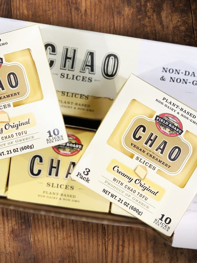Chao Vegan Cheese Slices Reviews & Information (Dairy-Free, Gluten-Free) - full product details and ratings!