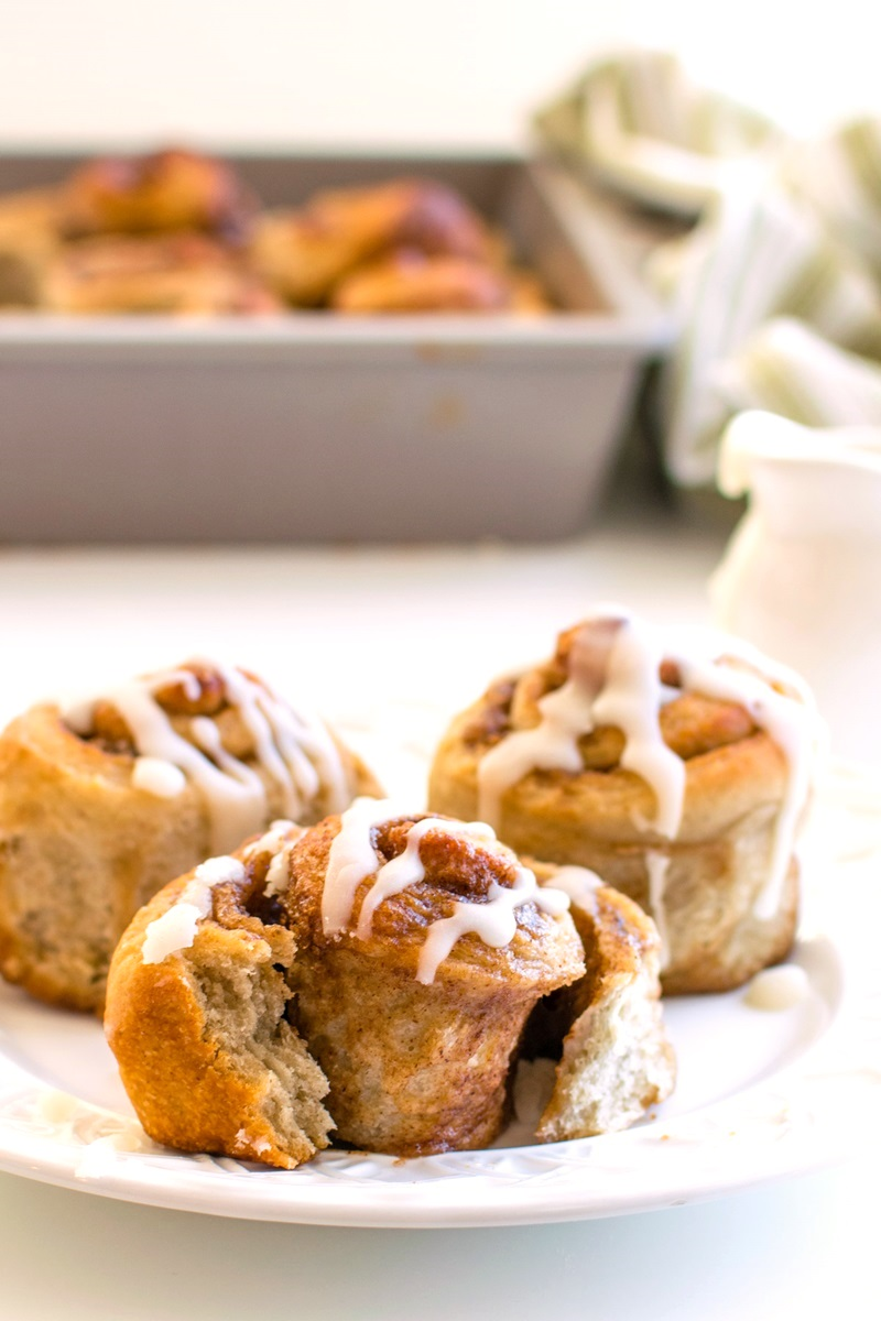 Dairy-Free Double the Cinnamon Rolls Recipe (also vegan, nut-free, and soy-free!) - easy, delicious, homemade pastries that everyone loves.