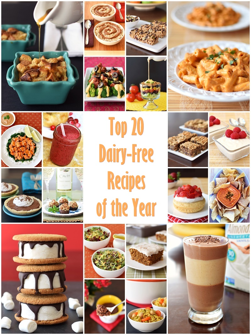 Top 20 New Dairy-Free Recipes of the Year (all with tested gluten-free options) - decadent sweets, creamy sauces, satisfying snacks and better breakfasts.