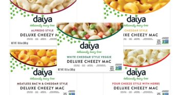 Daiya Cheezy Mac Reviews and Info - dairy-free, gluten-free, vegan, top allergen-free mac and cheese alternative in several flavors. Pictured: All