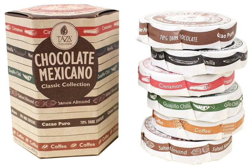 Top 12 Dairy-Free Chocolate Gifts for the Holidays (Taza Stone Ground Chocolate pictured)