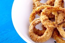 Baked Vegan Onion Rings Recipe