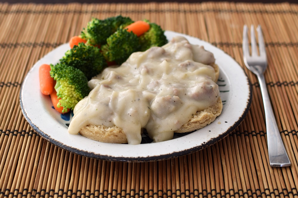 Biscuits and Gravy: Dairy-Free, Gluten-Free, Sneaky Recipe!