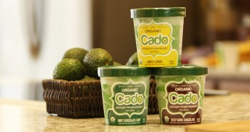 Cado Organic Avocado Ice Cream - dairy-free, vegan, allergy-friendly frozen dessert made with a base of avocados!