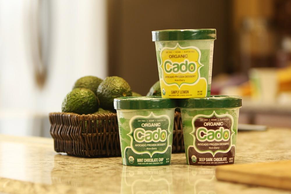 Cado Organic Avocado Ice Cream Dairy Free