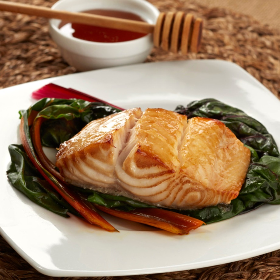 Wild Alaskan Black Cod with Honey Marinade - don't expect any leftovers! This sweet marinade is perfect on fish and naturally dairy-free, gluten-free (paleo optional)