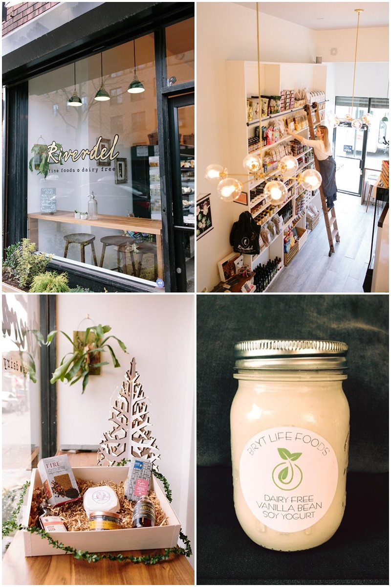Riverdel Fine Foods, Dairy Free - A Vegan Cheese Shop in Brooklyn with a fun array of delicious eats.