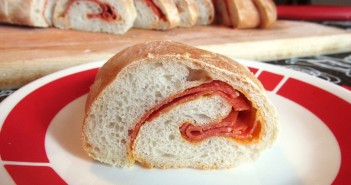 "Dairy-Free Pepperoni Rolls Recipe - the pepperoni provides richness and ""cheesy"" flavor to the bread. Includes a vegan option."