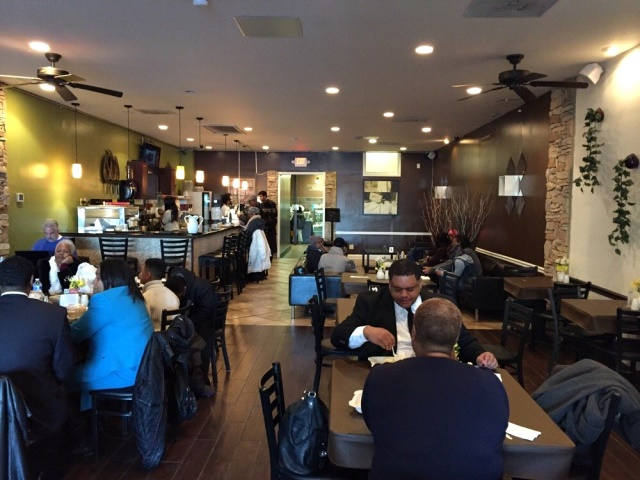 Woodlands Vegan Bistro in DC is a popular location for gluten-free, too. Comfort cuisine with healthier ingredients.