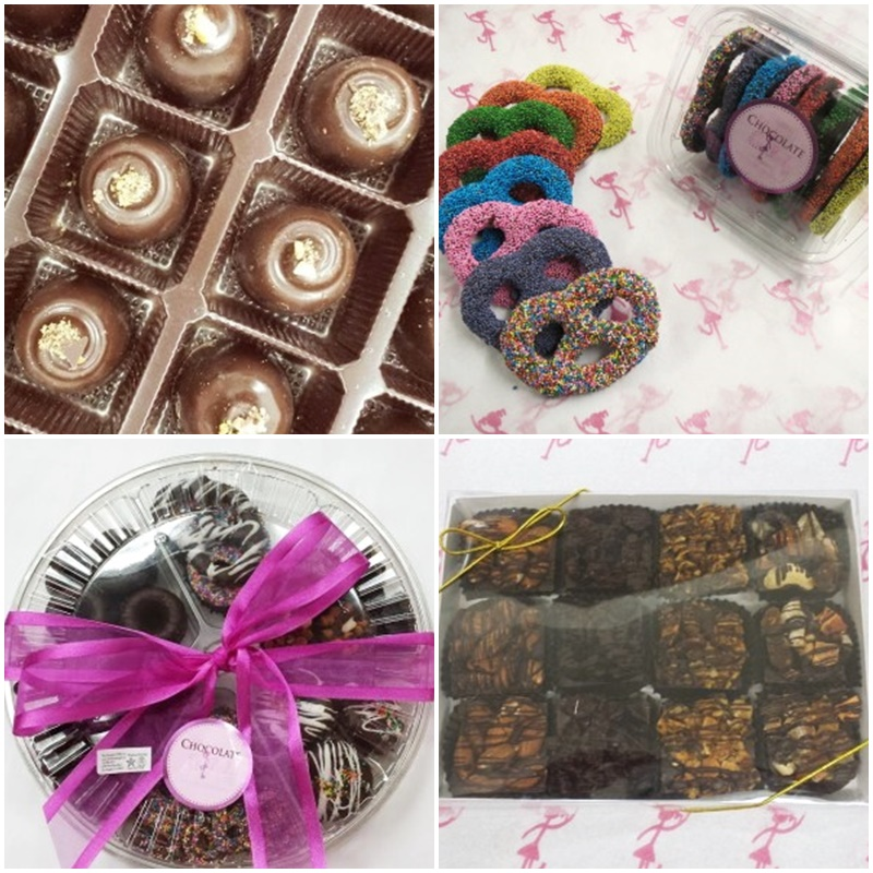 Guide to the Best Dairy-Free Valentine Chocolate: Over 20 Chocolatiers with Vegan, Gluten-Free, Food Allergy-Friendly, Organic, Fair Trade and more! Pictured: The Chocolate Girl (all kosher parve)
