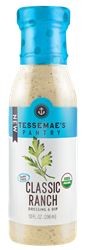 Tessemae's Salad Dressings Reviews and Info - dairy-free, paleo, gluten-free, keto - A huge variety of flavors including SEVEN dairy-free ranch dressing varieties.